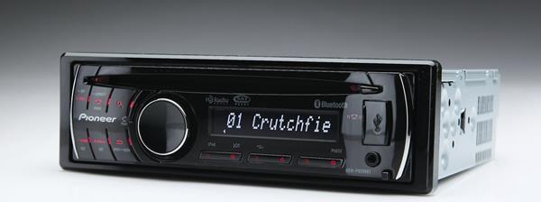 Pioneer DEH-P6200BT CD receiver at Crutchfield