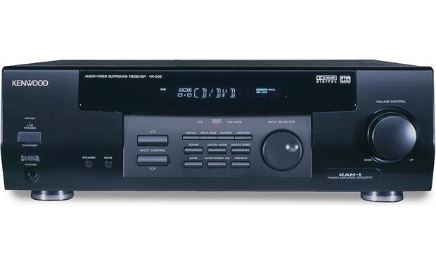 Kenwood VR-505 A/V Receiver with Dolby Digital and DTS at