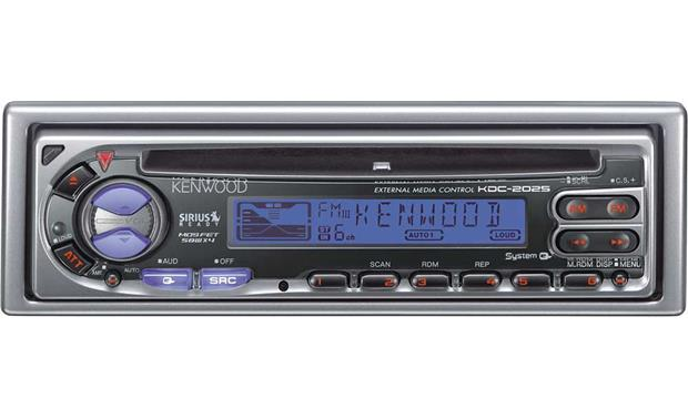 Kenwood KDC-2025 CD receiver with CD changer controls at Crutchfield