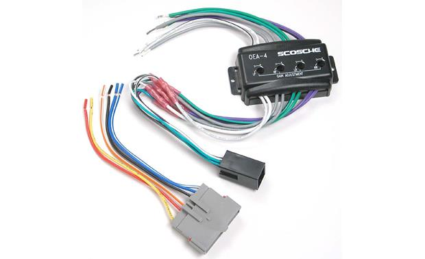 Scosche C4FDK5 Wiring Interface Allows you to connect a new car