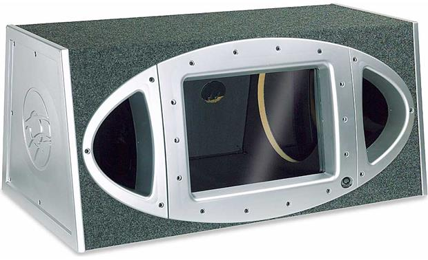 Q Logic Qb 2124 Dual 12quot Bandpass Subwoofer Box At
