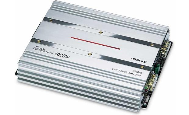 Profile AP1000 2-channel car amplifier 160 watts RMS x 2 at
