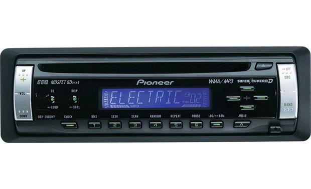 Pioneer DEH-2800MP CD receiver with MP3/WMA playback at Crutchfield