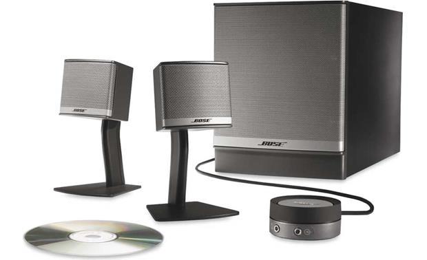 Bose® Companion® 3 Series II multimedia speaker system at