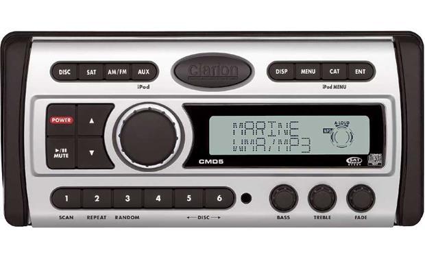 Clarion CMD5 Marine CD receiver at Crutchfield
