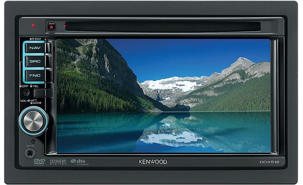 Kenwood DDX512 DVD receiver at Crutchfield