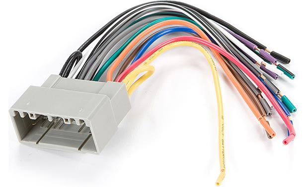 Metra 70-6502 Receiver Wiring Harness Connect a new car stereo in