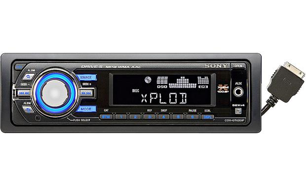Sony CDX-GT620IP CD receiver at Crutchfield