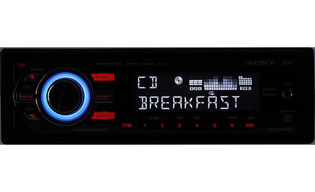 Sony Xplod CDX-GT62IPW CD receiver at Crutchfield