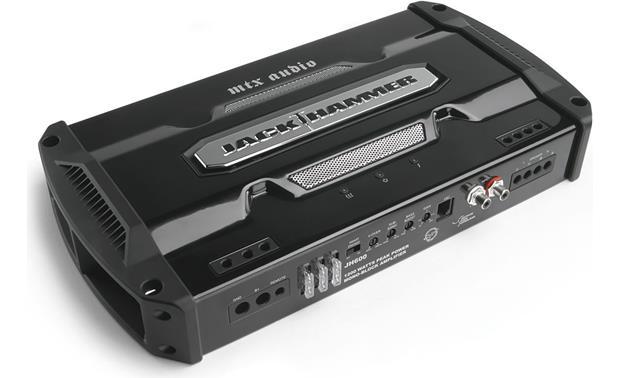 MTX JackHammer JH600 Mono subwoofer amplifier \u2014 600 watts RMS x 1 at