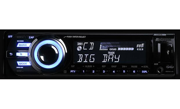 Sony Xplod CDX-GT640UI CD receiver at Crutchfield