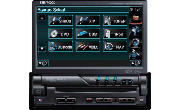 Kenwood KVT-514 DVD receiver at Crutchfield