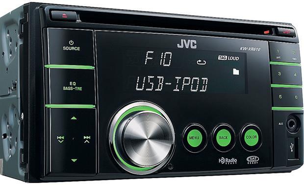 JVC KW-XR610 CD receiver at Crutchfield