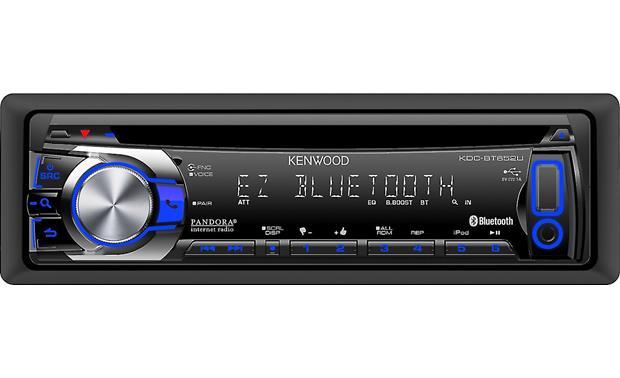 Kenwood KDC-BT652U CD receiver at Crutchfield