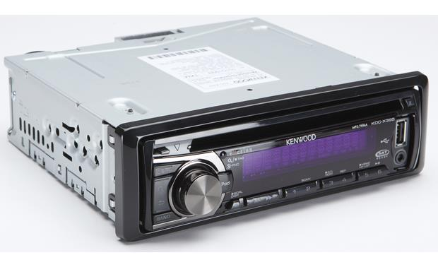 Kenwood Excelon KDC-X395 CD receiver at Crutchfield
