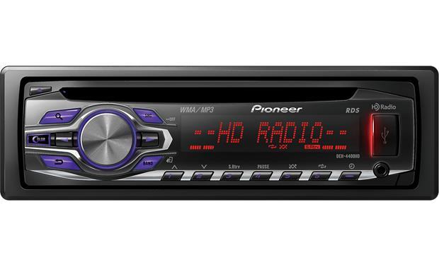 Pioneer DEH-4400HD CD receiver at Crutchfield