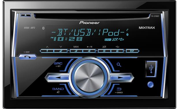 Pioneer FH-X700BT CD receiver at Crutchfield