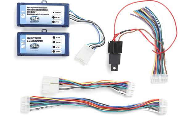 PAC OS-1 Wiring Interface Connect a new car stereo and retain OnStar