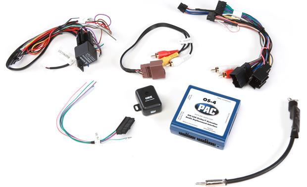 PAC OS-4 Wiring Interface Connect a new car stereo and retain safety
