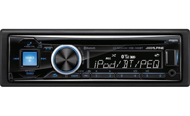 Alpine CDE-143BT CD receiver at Crutchfield