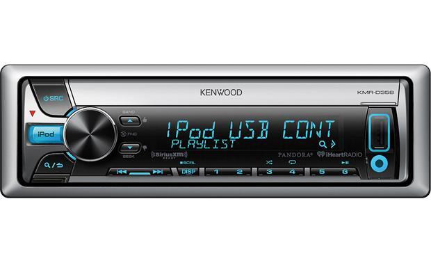 Kenwood KMR-D358 Marine CD receiver at Crutchfield