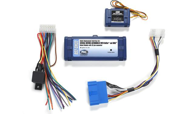 PAC OS2-GM32 Wiring Interface Retains OnStar®, Bose® amplifier, and