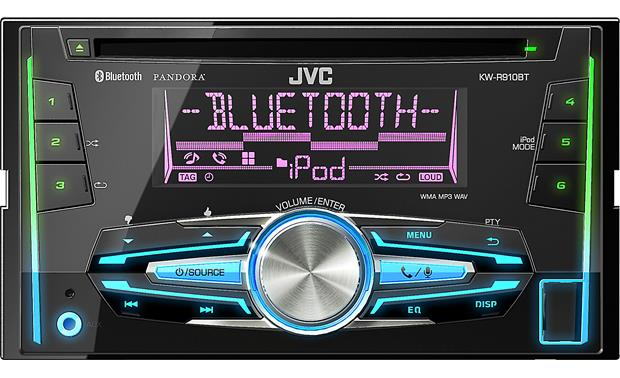 JVC KW-R910BT CD receiver at Crutchfield