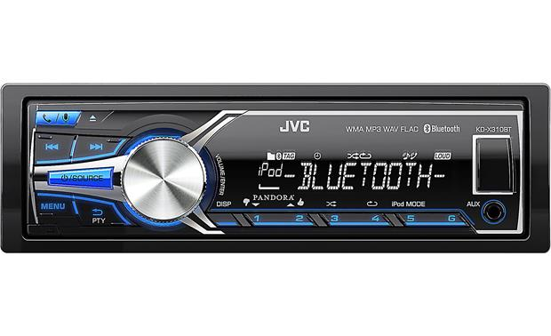 JVC KD-X310BT Digital media receiver (does not play CDs) at