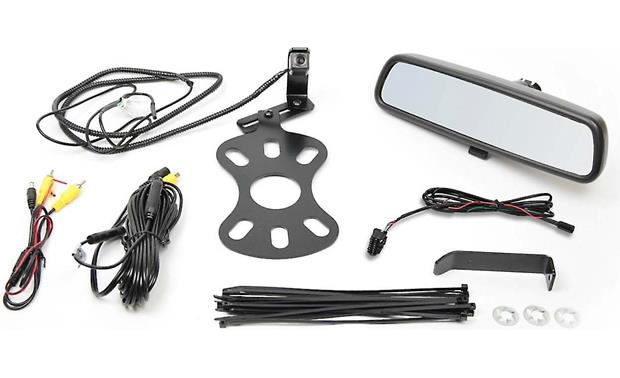 Brandmotion CRFD-8846 Replacement rear-view mirror and backup camera