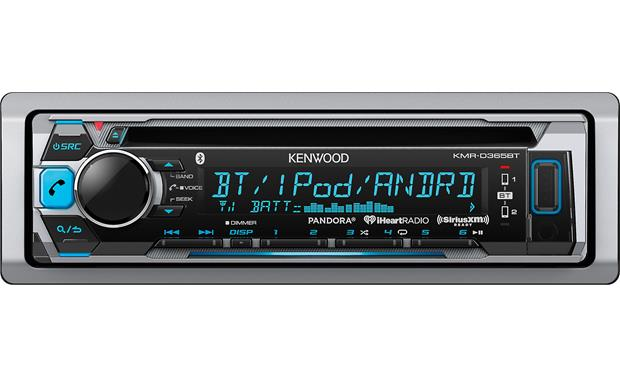 Kenwood KMR-D365BT Marine CD receiver with Bluetooth® at Crutchfield