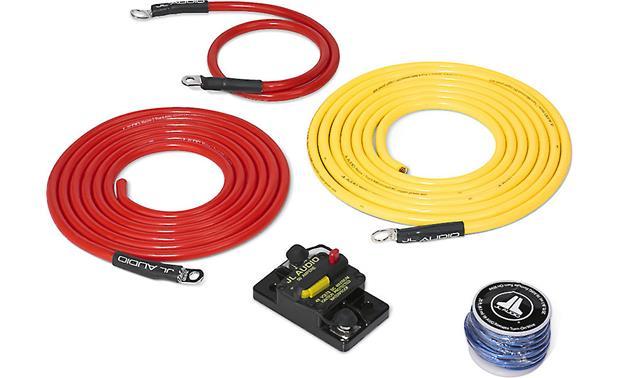 JL Audio Marine Amp Wiring Kit (10 feet) 6-gauge amplifier wiring