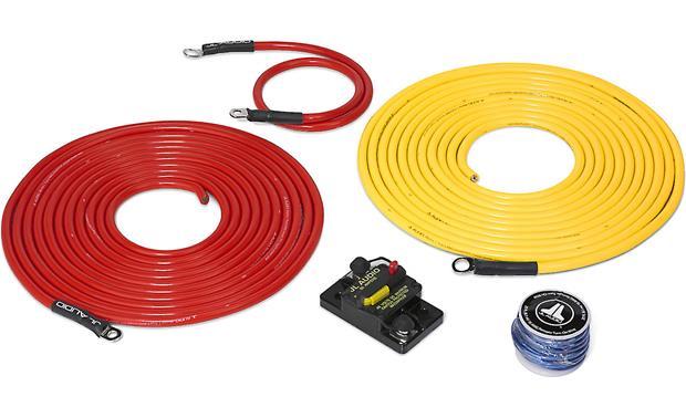 JL Audio Marine Amp Wiring Kit (20 feet) 6-gauge amplifier wiring