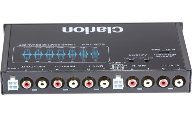 Clarion EQS755 7-band graphic equalizer \u2014 1/2-DIN chassis (1\