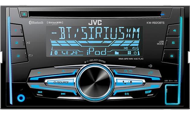 JVC KW-R920BTS CD receiver at Crutchfield