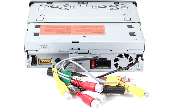 Pioneer AVH-X7800BT DVD receiver at Crutchfield