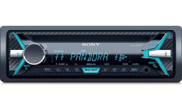 Sony CDX-G3150UP CD receiver at Crutchfield