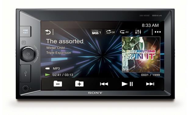Sony XAV-V631BT Digital multimedia receiver (does not play CDs) at