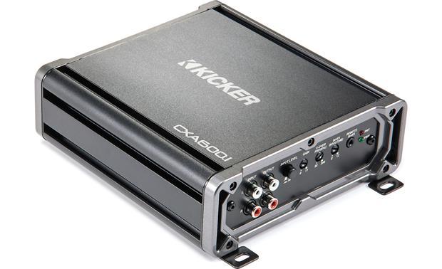 Kicker 43CXA6001 Mono subwoofer amplifier \u2014 600 watts RMS x 1 at 2