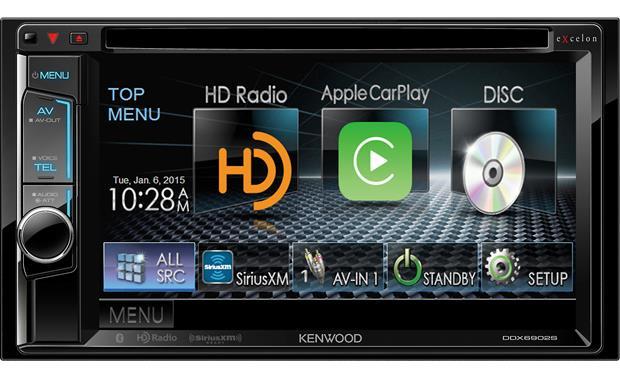 Kenwood Excelon DDX6902S DVD receiver at Crutchfield