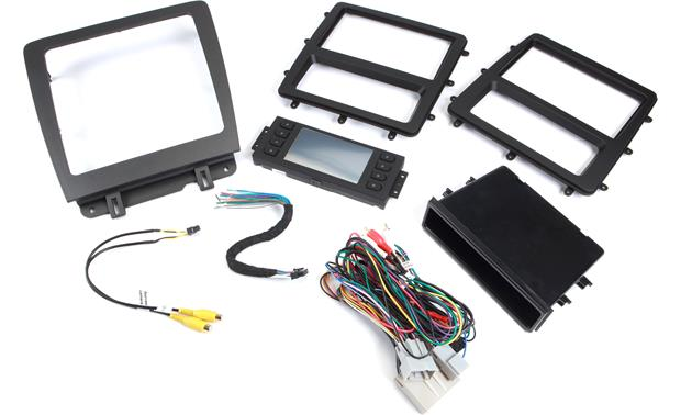 Metra 99-5839CH Dash and Wiring Kit (Gray/Black) Install and connect