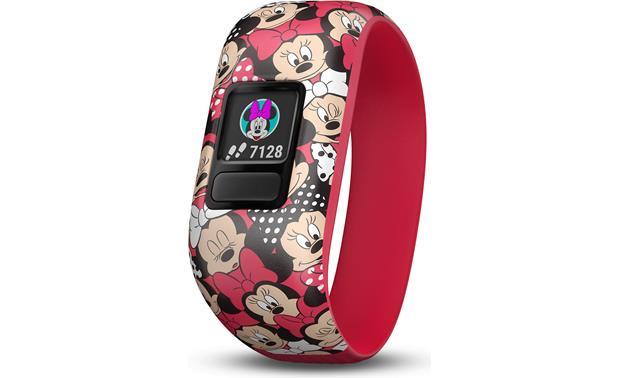 Garmin vivofit® Jr 2 (Minnie Mouse) Activity tracker with stretchy
