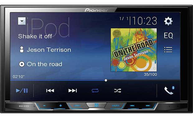Pioneer MVH-300EX Digital multimedia receiver at Crutchfield