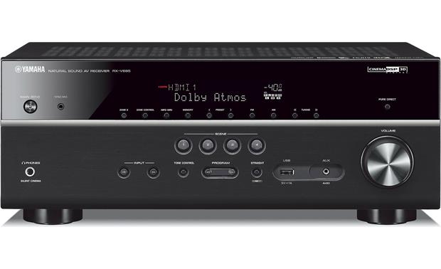 Yamaha RX-V685 72-channel home theater receiver with Wi-Fi