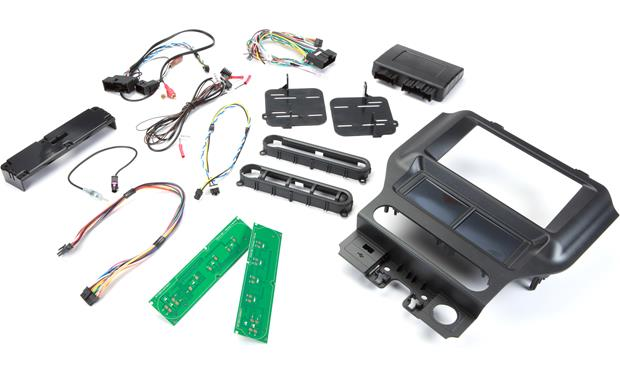 Scosche ITCFD05B Dash and Wiring Kit (Black) Install and connect a