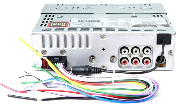 Dual Xdma Stereo Wiring Harness Dual Car Radio Wiring Diagram, 2000