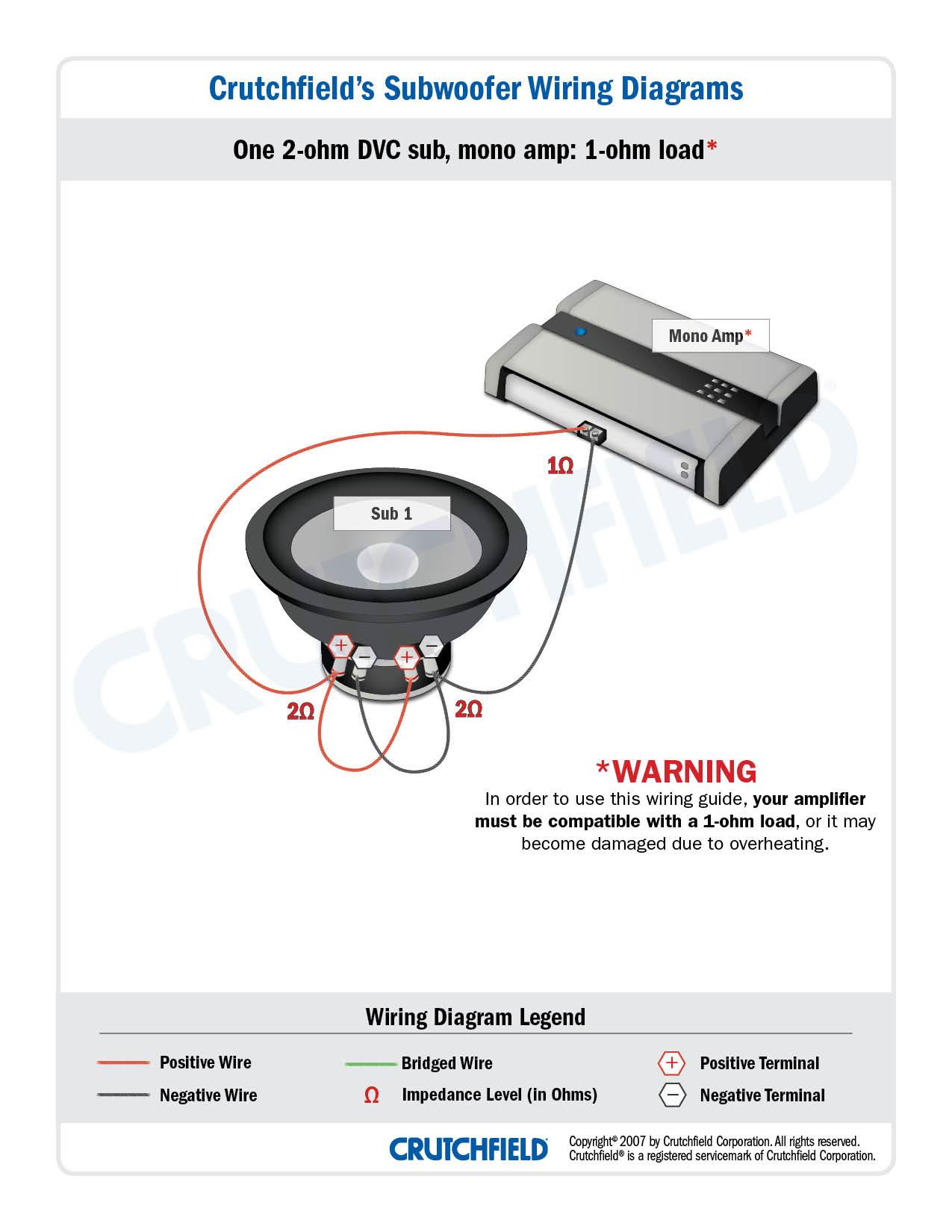 single dvc sub wiring diagram