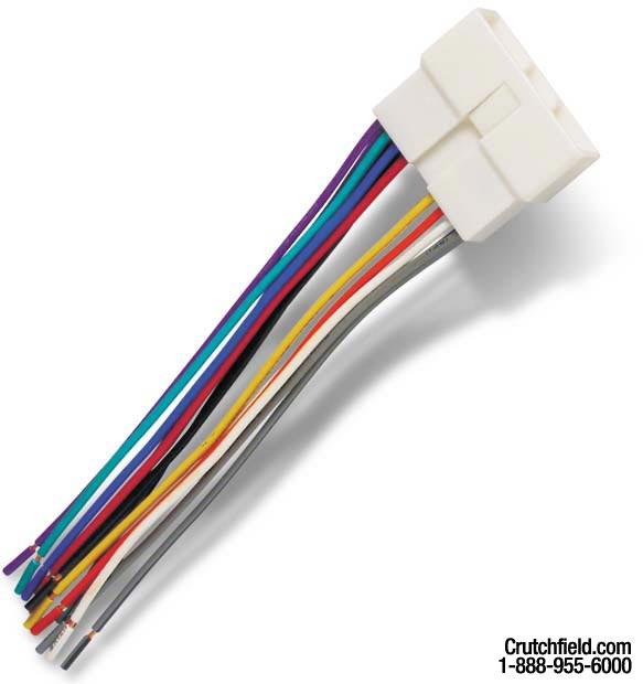 scosche gmda wiring harness color code