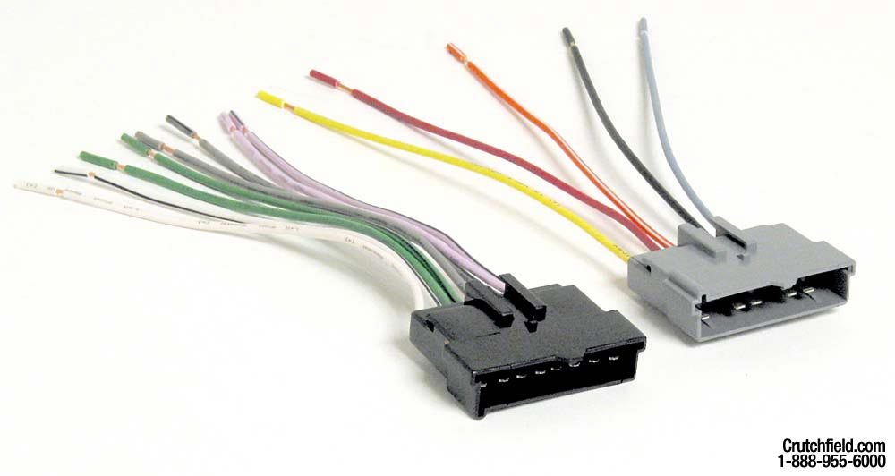 Metra 70-5002 Receiver Wiring Harness Connect a new car stereo in