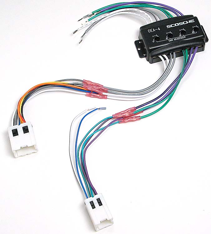 Scosche CNN03 Wiring Interface Allows you to connect a new car