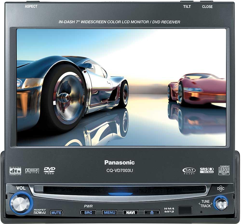 Panasonic Cq C7301u Cd Player 185343000600 Auto Electrical Wiring Cp134au Vd7003u Harness 35 Diagram